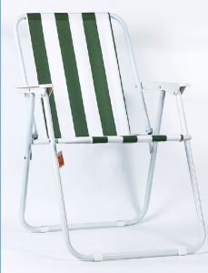 Foldable Polyester Adult Beach Stool Chair pictures & photos