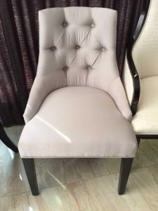 Chair/Foshan Hotel Furniture/Restaurant Chair/Foshan Hotel Chair/Solid Wood Frame Chair/Dining Chair (NCHC-009) pictures & photos