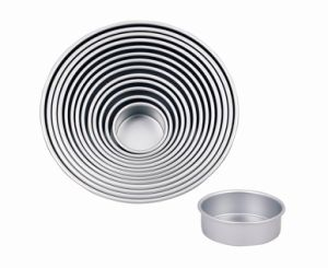 2 Inch Deph Professional High Quality Bakeware Aluminum Anodized Round Cake Pan (MY2023A-MY2036A) pictures & photos
