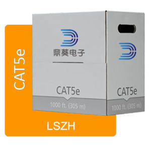 LSZH UTP Cat5e Indoor Cable 24 AWG Bare Copper pictures & photos