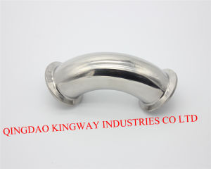 Stainless Steel Sanitary DIN Clamp Elbow 45 pictures & photos