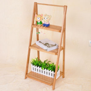 Bamboo Shelf Bamboo Storage Bamboo Plant Stand pictures & photos