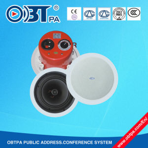 Obt-611 20W 6.5inch White Ceiling Speaker with Top One Sound Quality and Factory Price,