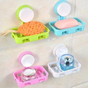 Plastic Suction Soap Dispenser, Soap Box pictures & photos