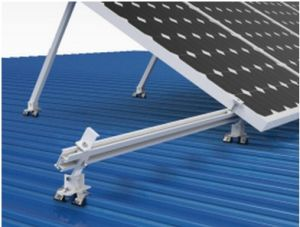 Color Steel Tile PV Roof Solar Bracket System pictures & photos