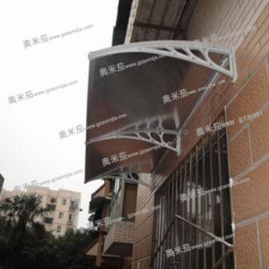 PC Material Sheet Balcony Awnings for Doors and Windows (A79)
