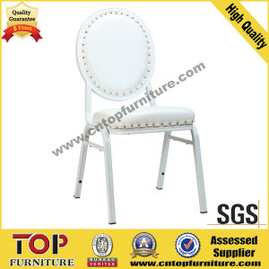 Hotel Classy White Leather Wedding Banquet Chair pictures & photos