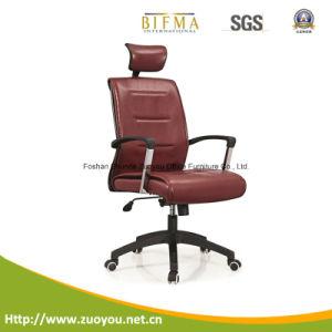 Dubai Good Quality PU High Back Swivel Leather Modern Office Chair (A648)