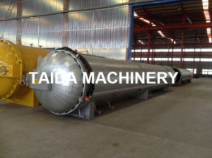 Siemens PLC Rubber Gloves Pressurized Vulcanization Autoclave Vulcanizer pictures & photos