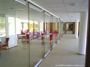 Movable Glass Office Partition Wall System pictures & photos