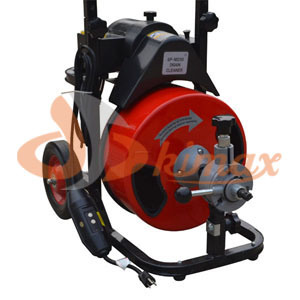 Drain Cleaning Machine, 1/3 HP, 1716rpm