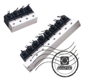 2 Way 3 Port Solenoid Valve Block M5