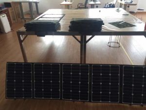 160W Sunpower Foldable Solar Charger for Motorhome pictures & photos