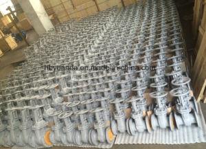 GOST Carbon Steel Rising Stem Cuniform Gate Valve (z41h-16C) pictures & photos