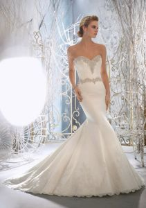 Mermaid Fishtail Wedding Dresses (WMA3058) pictures & photos
