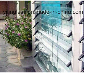 Elegant Tempered Clear Louvre Glass pictures & photos