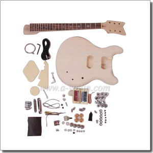 Double Cutaway DIY Electric Guitar Kits (EGR201A-W) pictures & photos