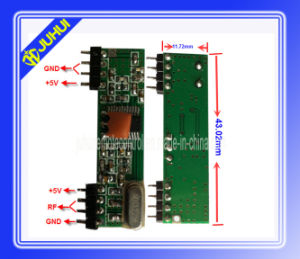 Adjustable Frequency RF Receiver Module (JH-RX09) pictures & photos