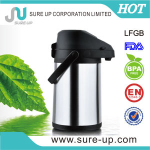 Double Wall Stainless Steel Insulated Airpot Vacuum Flask with LFGB (ASUJ) pictures & photos