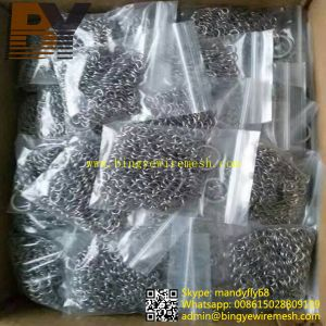Cast Iron Pan Skillet Stainless Steel Chain Mail Cleaner pictures & photos