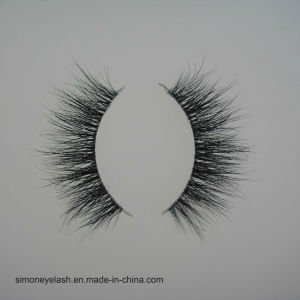 False Eyelashes Clear Band 3D Mink Lashes pictures & photos