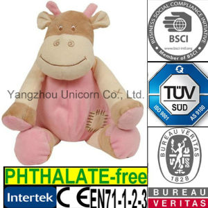 CE PP Cotton Soft Stuffed Animal Cow Plush Toy