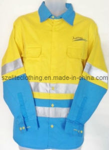 Hot Sale OEM Service Ladies Safety Shirts (ELTHVJ-157) pictures & photos