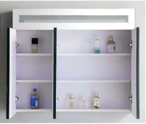 Hot Sale Europe Style MDF Bathroom Cabinet with Mirror Cabinet (SW-1313) pictures & photos