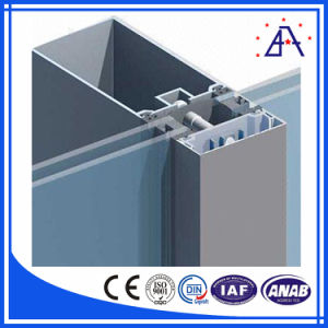 Leading Factory Supplier Polished Aluminum Profile for Curtain pictures & photos