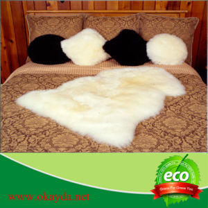 100% Real Sheepskin Fur Rugs for Home Decoration Pray
