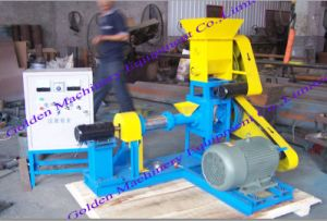 Floating Fish Feed Pellet Extruder Pellet Making Machine pictures & photos
