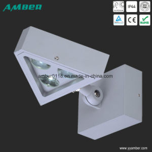 3W Triangle Outdoor LED Wall Light with PC pictures & photos
