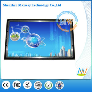 Support Rolling Caption 42 Inch Open Frame LCD Advertising Screen pictures & photos