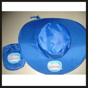 Ladies Fashion Foldable Hat with Pouch--Customized Logo pictures & photos
