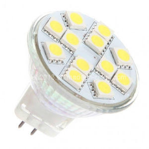 LED Cabinet Bulb Gu4 MR11 9 5050 SMD LED Lamp pictures & photos
