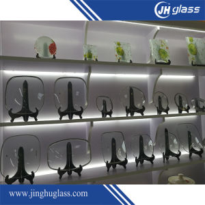 6mm Bent Tempered Glass for Pot Cover pictures & photos