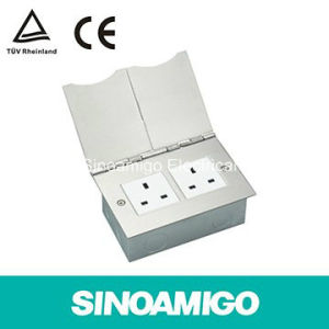 TUV Certificated Duplex Floor Socket Receptacle pictures & photos