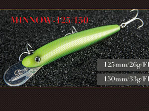Hard Fishing Lure (Wizard Minnow 125 150mm Floating) pictures & photos