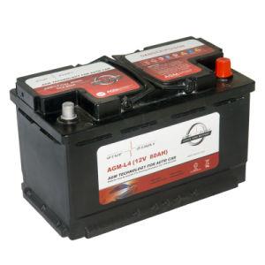 china agm l4 high quality 12v 80ah agm car battery china start stop car battery wholesale car. Black Bedroom Furniture Sets. Home Design Ideas