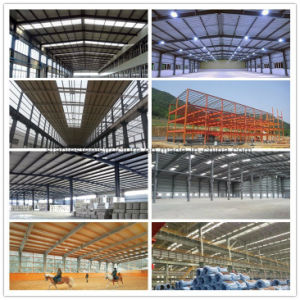 Wind Resistance Strong Steel Structure Warehouse with Crane Beam pictures & photos