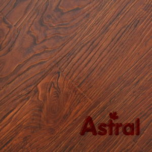 Registered Embossed Surface (V-Groove) Laminate Flooring (AT004) pictures & photos