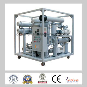 2017 New Technology Transformer Oil Filtration and Insulation Oil Purifier with Vacuum Oil Purification Equipment pictures & photos