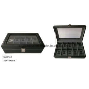 High Quality Cow Leather Watch Box (SW0134)