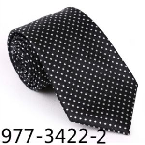 New Design Men′s Fashionable DOT Necktie (3422-2) pictures & photos