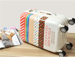 Customized PC Full Printing Luggage Made in China pictures & photos