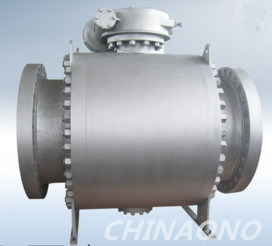 High Performance Trunnion Mounted 4 Inch Stainless Steel Ball Valve pictures & photos