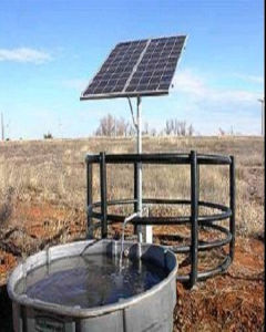 Solar DC Pump System From Hydraulic Head 3m-20m pictures & photos
