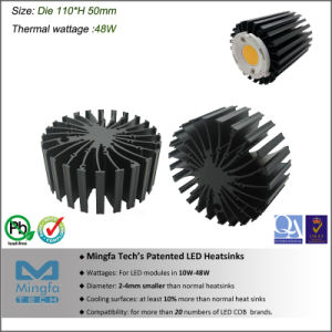 Aluminum Passive LED Heatsink for Spotlight and Downlight (EtraLED-11050)