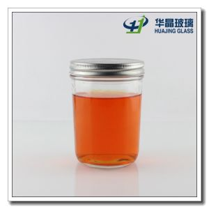 400ml Marmalade Honey Glass Jar with Tin Lids