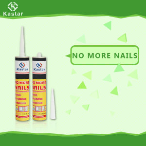 White Color No Odor Nail Free Adhesive for Signs pictures & photos